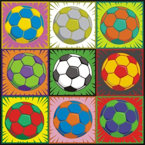 Soccer (Football) Pop Art - Men's Premium T-Shirt