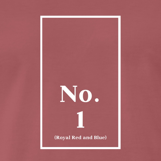 No. 1 (Royal Red and Blue) von Mark Rothko