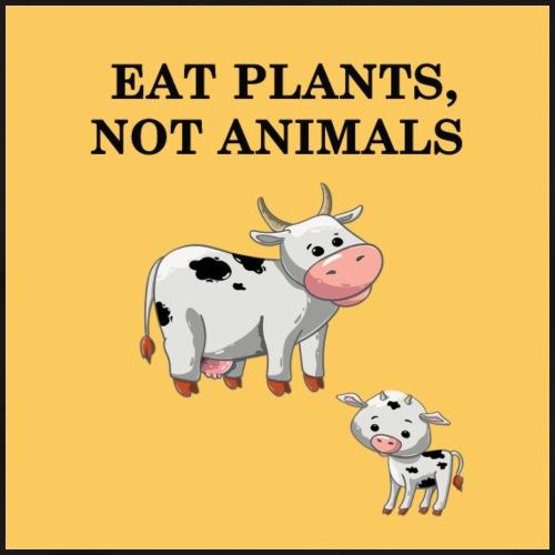 EAT plant not animal - T-shirt Premium Homme