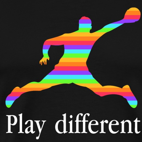 PLAY DIFFERENT - T-shirt Premium Homme