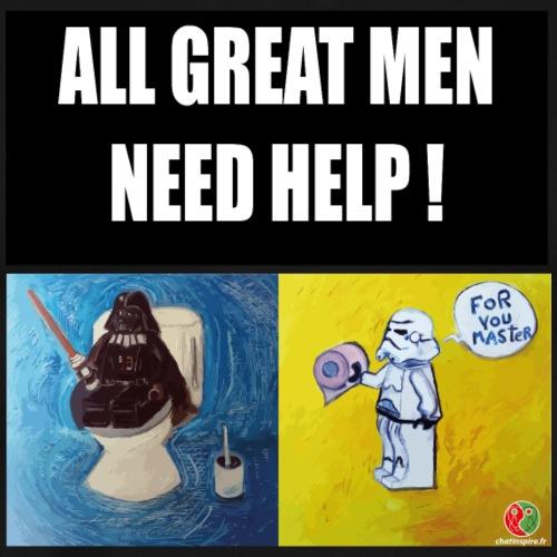 visuel all great men need help 01