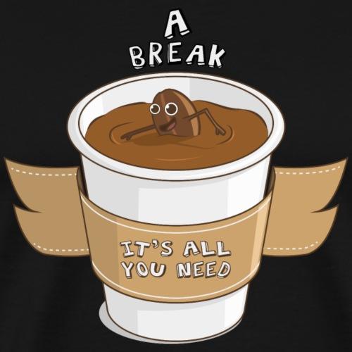 Café, todo lo que necesitas. - Camiseta premium hombre