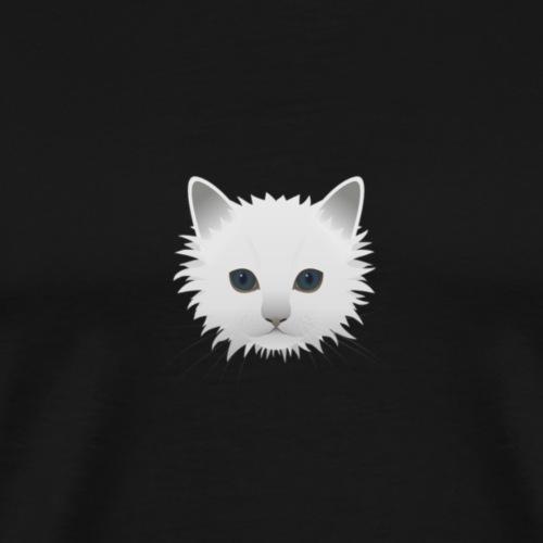 Chat Angora - T-shirt Premium Homme
