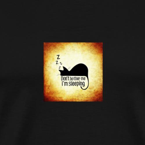 Chat endormi - T-shirt Premium Homme