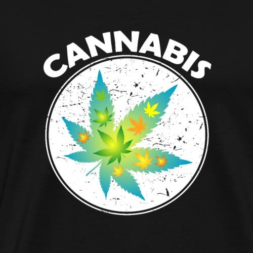 Cannabis Blatt im Blatt