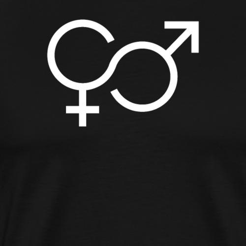 Frau und Mann - Männer Premium T-Shirt