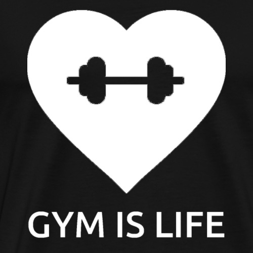 GymIsLife W - Men's Premium T-Shirt