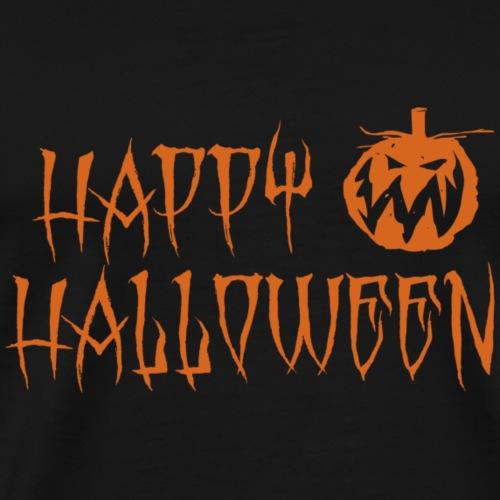 Happy Halloween with pumpkin Design