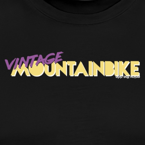 vintage mountainbike - Männer Premium T-Shirt