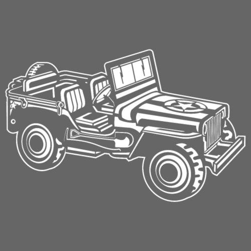 Geländewagen / Jeep SUV 01_weiß - Männer Premium T-Shirt