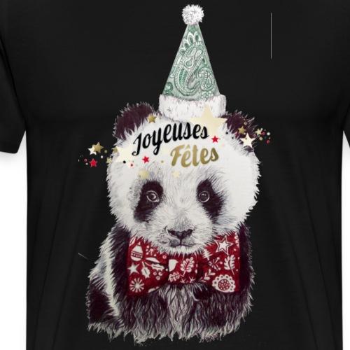 Bebe panda noel