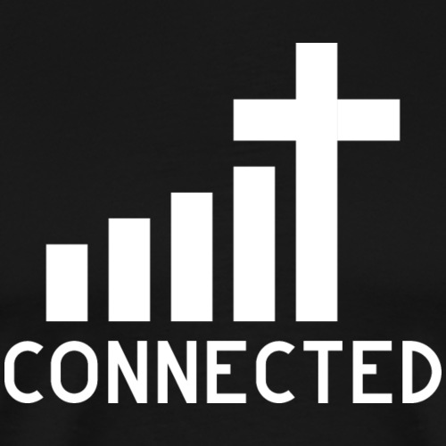 Connected to Jesus - Männer Premium T-Shirt