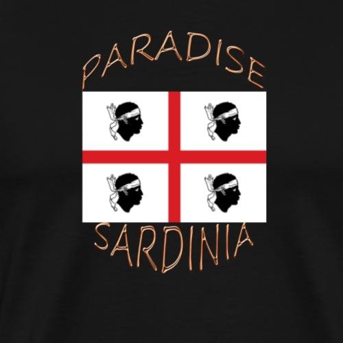PARADIES SARDINIEN 4 MORI - Männer Premium T-Shirt