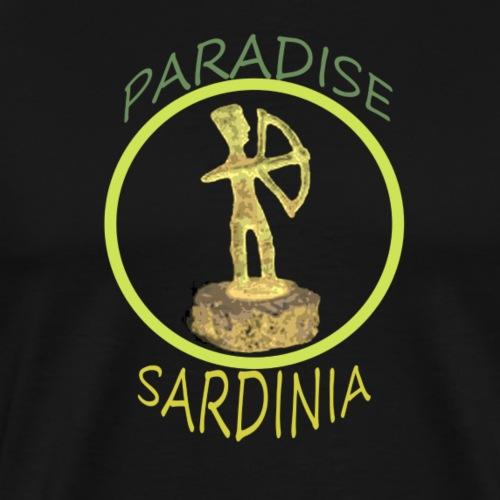 PARADIES SARDINIEN ARCIERE - Männer Premium T-Shirt