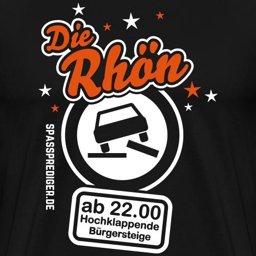 Sprüche T Shirt Die Rhön - Männer Premium T-Shirt