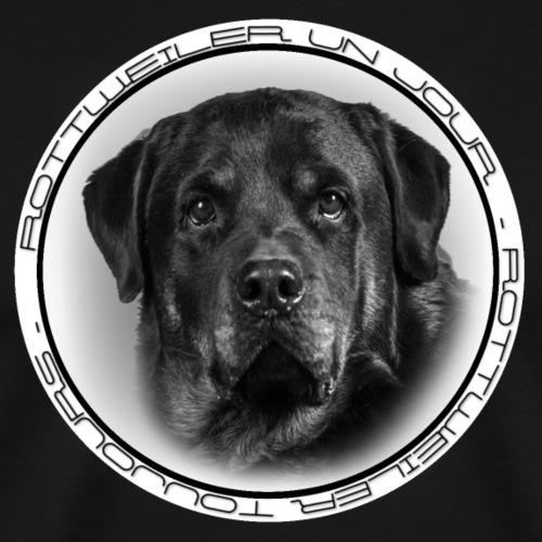 Rottweiler Un Jour Rottweiler Toujours SAYOU - T-shirt Premium Homme