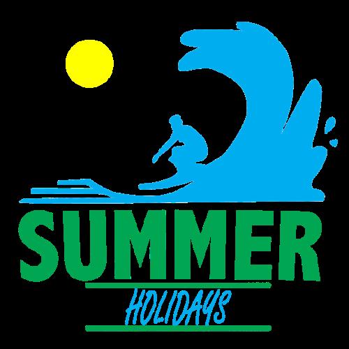 Sommerurlaub   Urlaub Sommer Surfen - Männer Premium T-Shirt