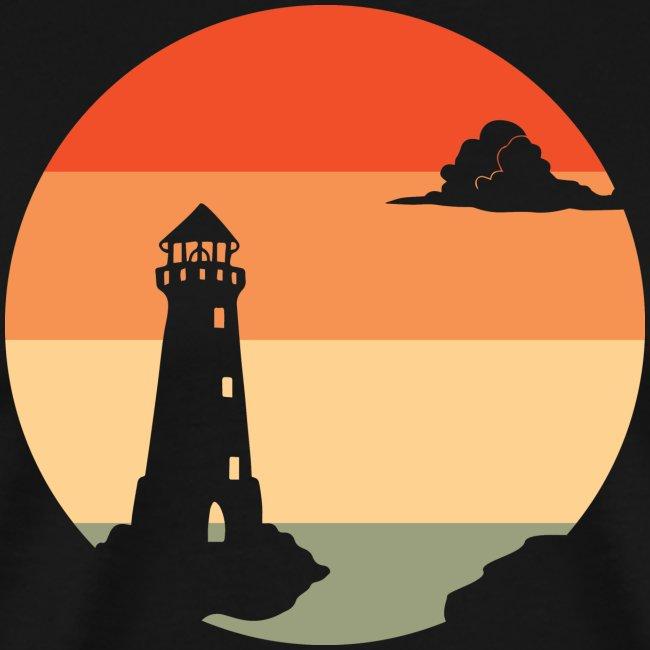 Sonnenuntergang | Leuchtturm Dämmerung
