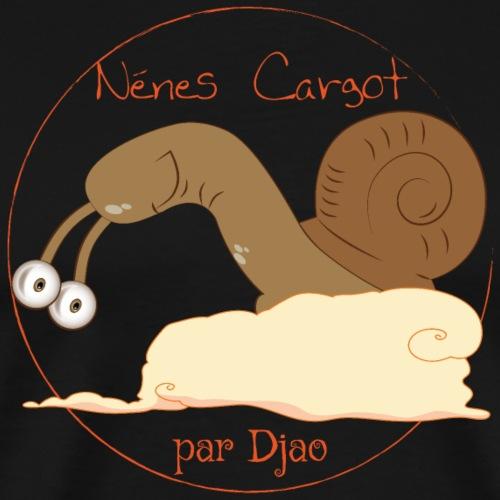 Nénes Cargot la tête dans les nuages par Djao - T-shirt Premium Homme