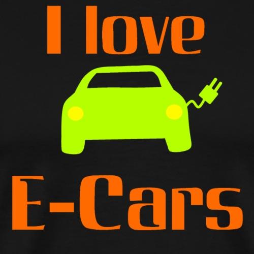 I Love E-Cars - Ich liebe E-Autos