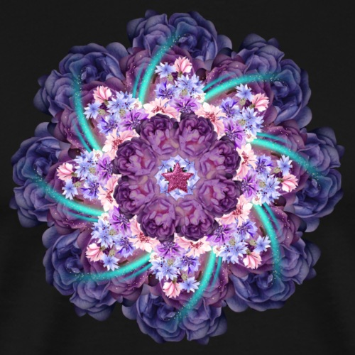 magic moment mandala - Men's Premium T-Shirt