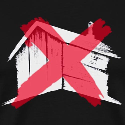 F**k Shed Productions Logo - Men's Premium T-Shirt