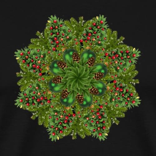 New Year Tree Mandala - Men's Premium T-Shirt