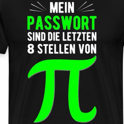 Mein Passwort! - Männer Premium T-Shirt