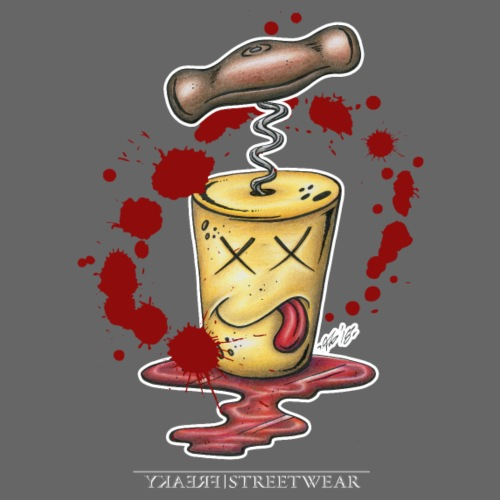 Korkenmord - Männer Premium T-Shirt