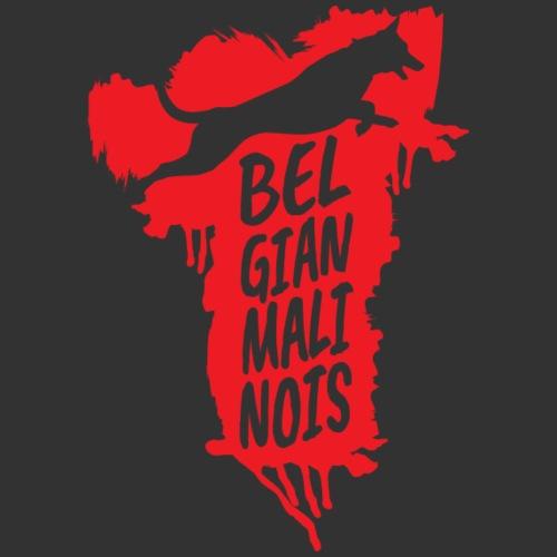 Belgian Malinois JUMP - Miesten premium t-paita