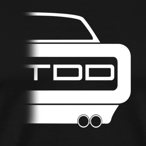 TDD CHARGE! - Men's Premium T-Shirt