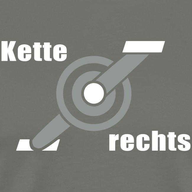 Kette rechts - Fahrrad Rennrad Kurbel