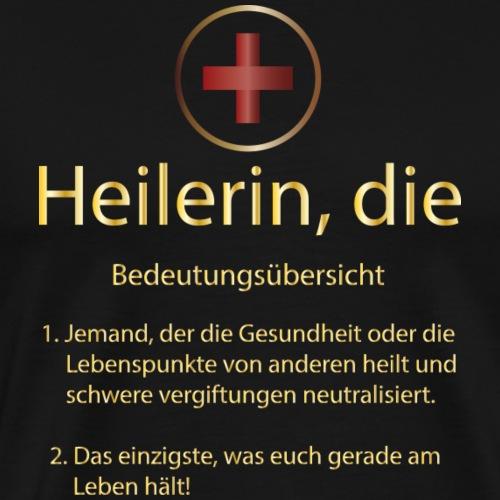Heilerin, die - Männer Premium T-Shirt