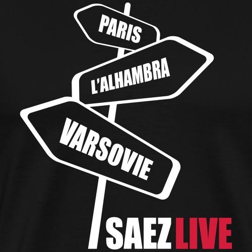 Varsovie (version light, par parek) - T-shirt Premium Homme