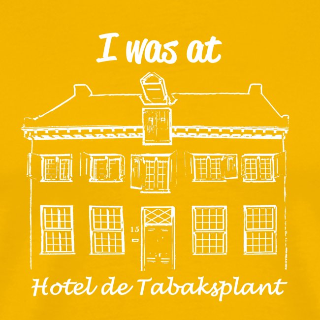 I was at Hotel de Tabaksplant WIT