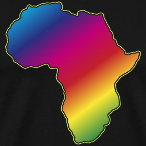 Afrika Big Five Africa Regenbogen Roots of Reggae - Men's Premium T-Shirt