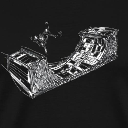 THEZ-SK8ING - T-shirt Premium Homme