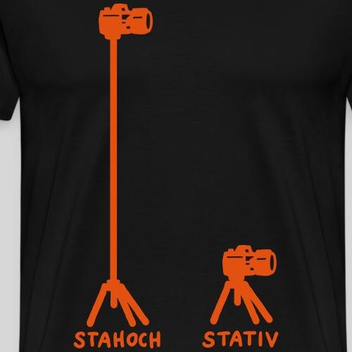 Stahoch - Stativ - Männer Premium T-Shirt