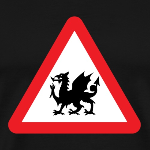 Welsh Dragon - Men's Premium T-Shirt