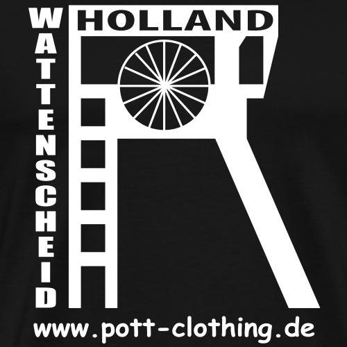 Zeche Holland (Wattenscheid) - Männer Premium T-Shirt