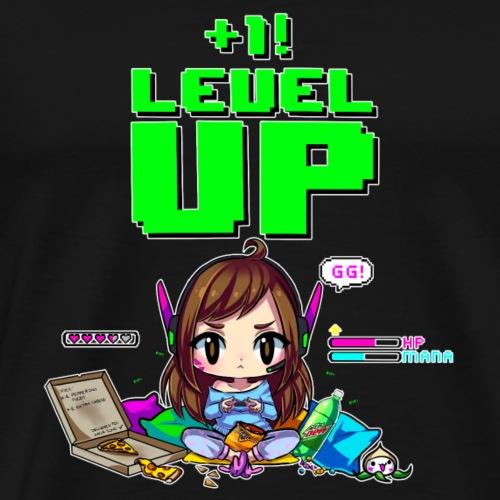 dva level up - T-shirt Premium Homme