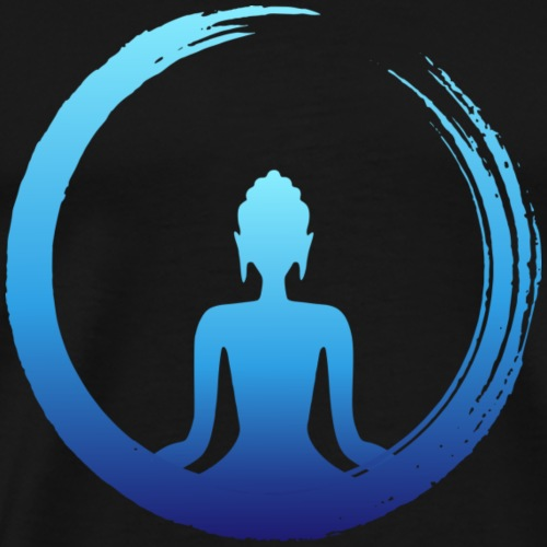 Buda Zen Libertad - Camiseta premium hombre