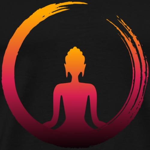 Buda Zen Sangre - Camiseta premium hombre