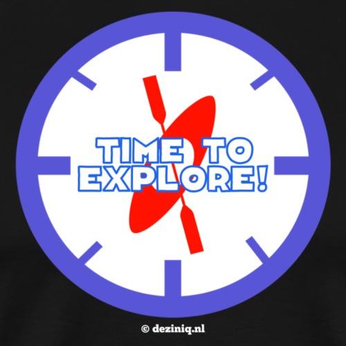 Time To Explore - Mannen Premium T-shirt