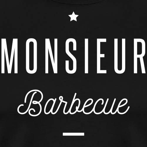 monsieur barbecue - T-shirt Premium Homme