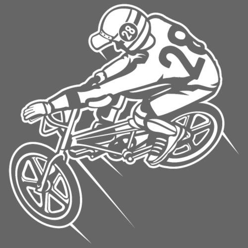 BMX Fahrrad / Bike 01_weiß - Männer Premium T-Shirt