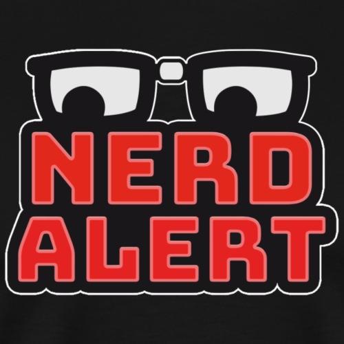 Nerd-Alert Logo - Männer Premium T-Shirt
