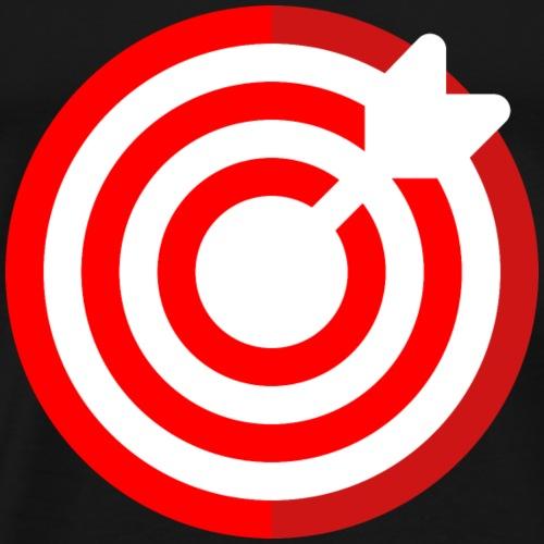 dartboard - Männer Premium T-Shirt