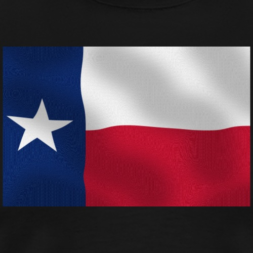 Texas Flag - Männer Premium T-Shirt