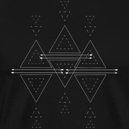 native geometrix - Männer Premium T-Shirt